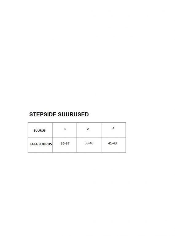 Stepside suurused
